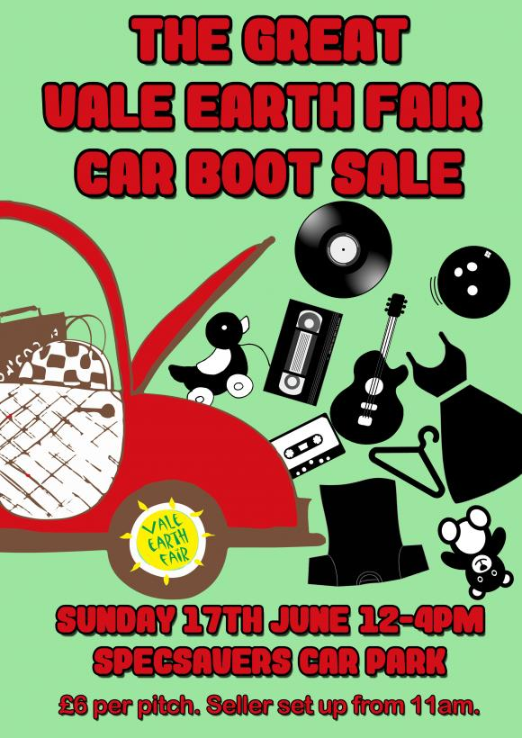 vef car boot sale vale earth fair  local event   global conscience