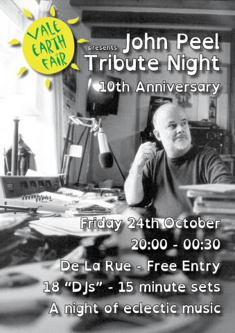 tribute to john peel dj night