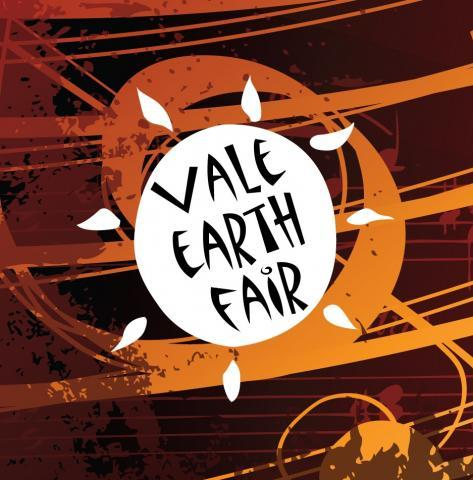 Vale Earth Fair swirl logo