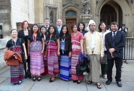 Earth Fair Collective member Rob Roussel & Burma Campaign at Parliament