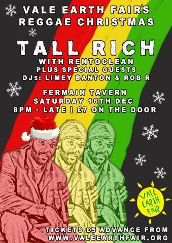 Tall Rich Vale Earth Fair Reggae Christmas