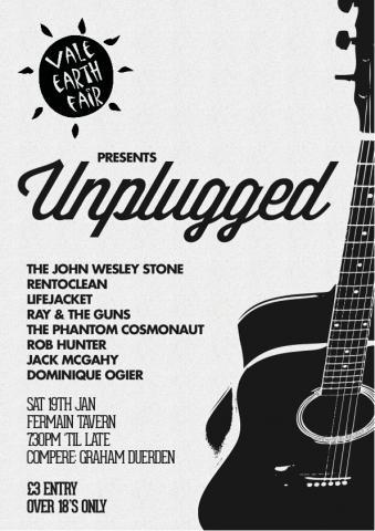 Unplugged - A Vale Earth Fair Fundraiser